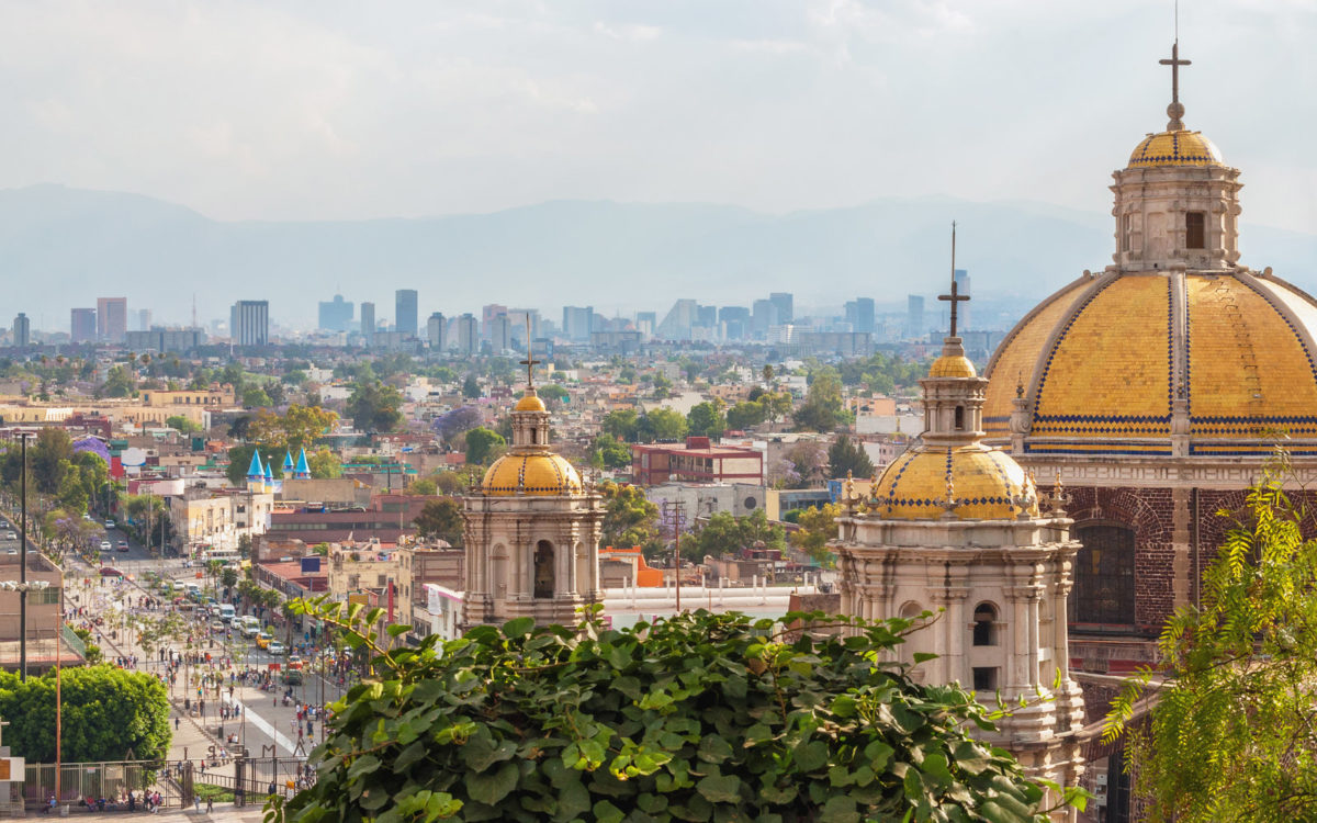 Mexico city view - Warcraft's cities and their real world equivalents